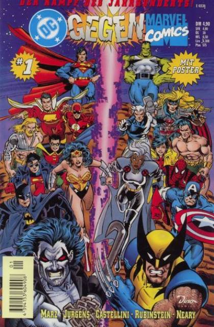 DC gegen Marvel Comics