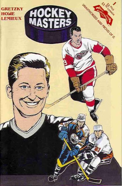Hockey Masters Comics