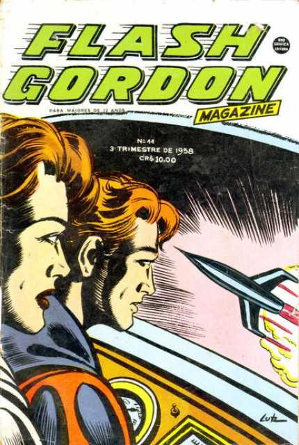 Flash Gordon - Magazine
