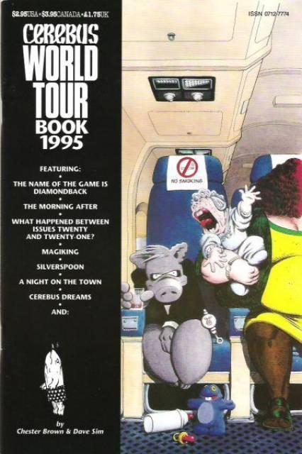 Cerebus World Tour Book