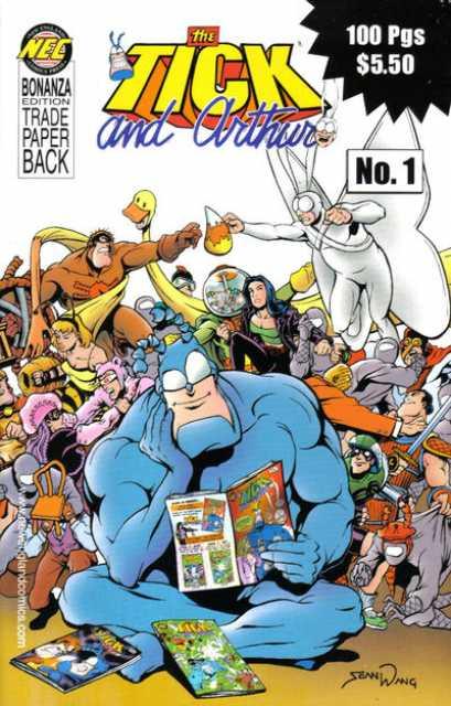 Tick and Arthur Bonanza Edition Trade Paperback