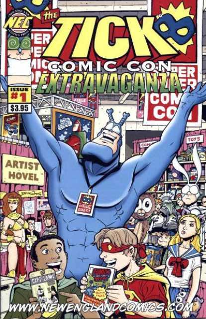 Tick Comic Con Extravaganza