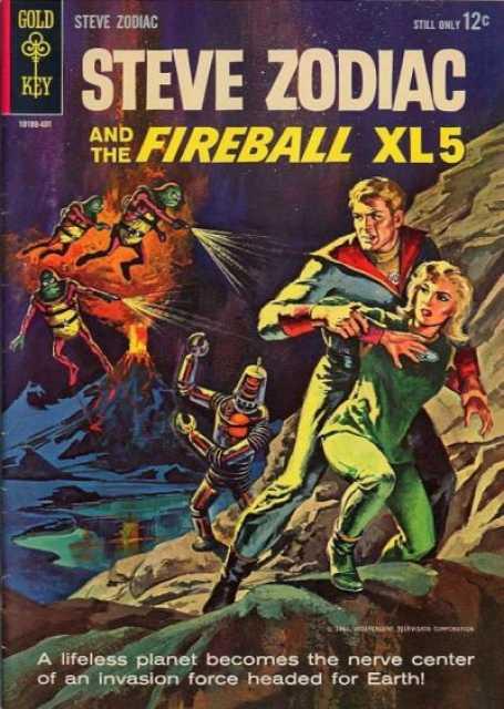Steve Zodiac and the Fireball XL 5