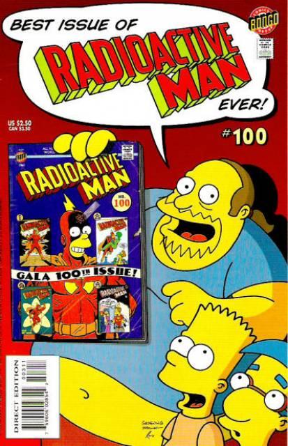 Bongo Comics Presents Radioactive Man