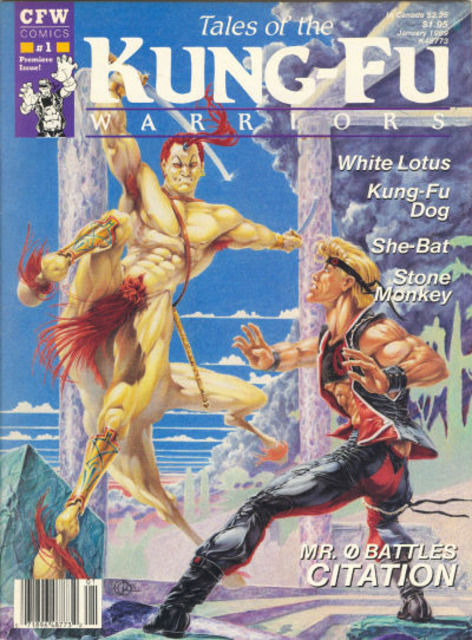 Tales of the Kung-Fu Warriors