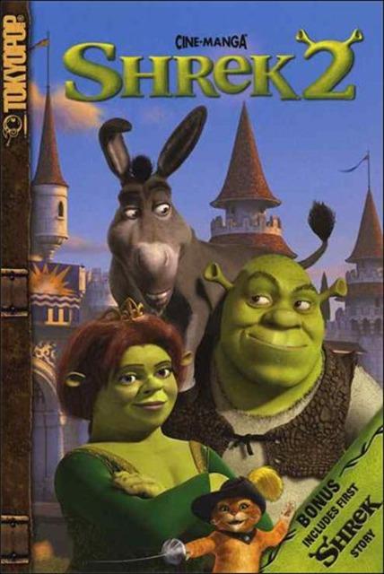 Shrek 2 Cine-Manga