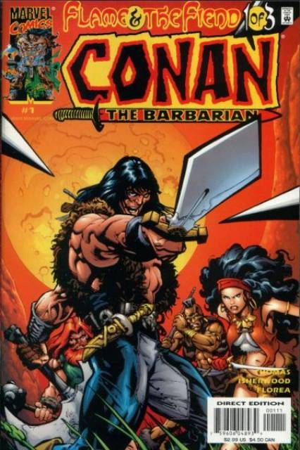 Conan: Flame and the Fiend