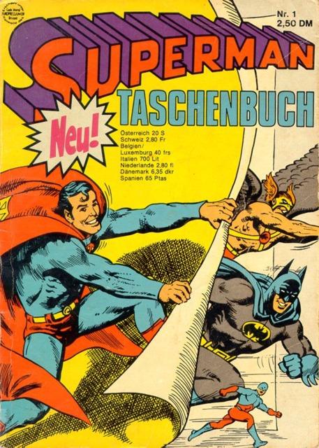 Superman Taschenbuch