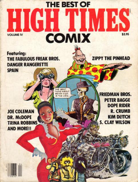 Best of High Times: Comix