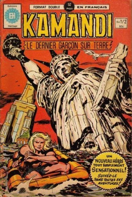 Kamandi le dernier garçon sur terre