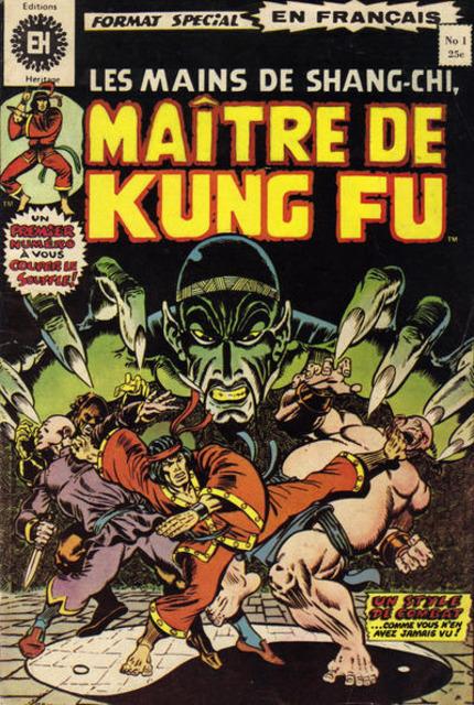 Les Mains de Shang-Chi, Maitre du Kung-Fu