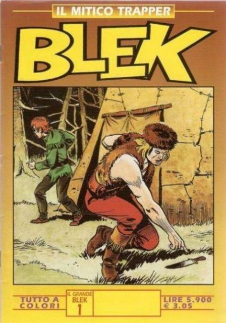 Il Mitico Trapper Blek: Collana Art Collection
