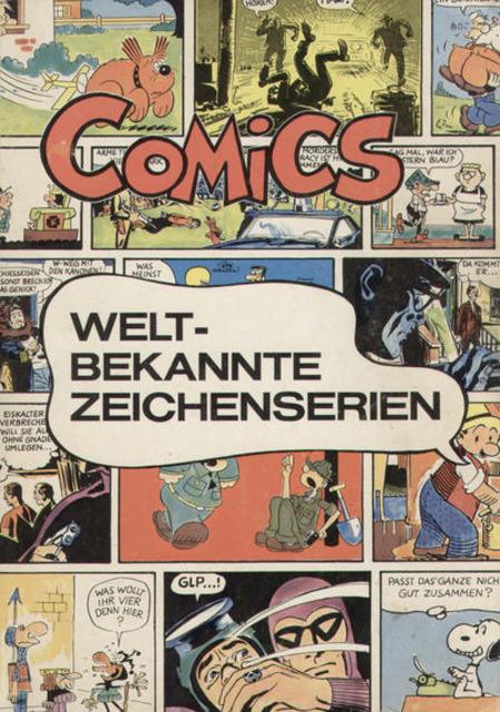 Comics - Weltbekannte Zeichenserien