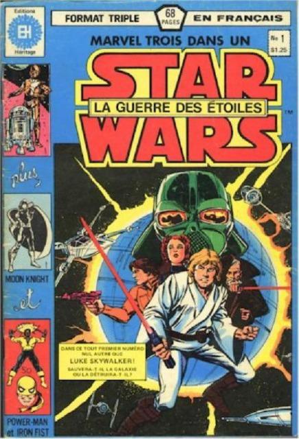 Marvel Trois-dans-un Star Wars