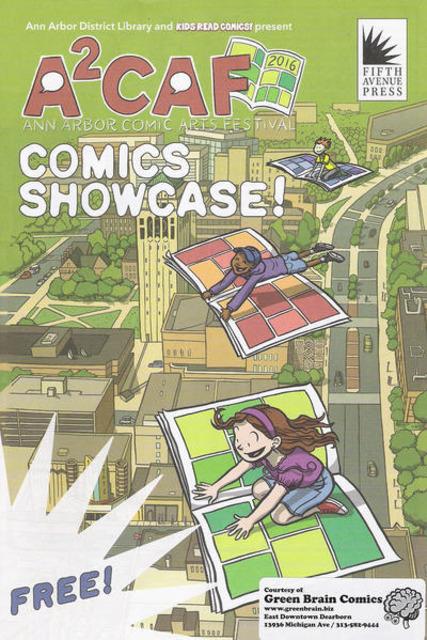 A2CAF Comics Showcase
