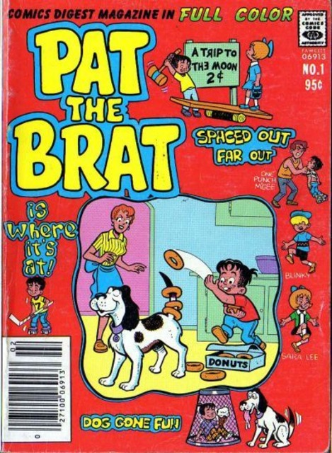 Pat the Brat Comics Digest Magazine