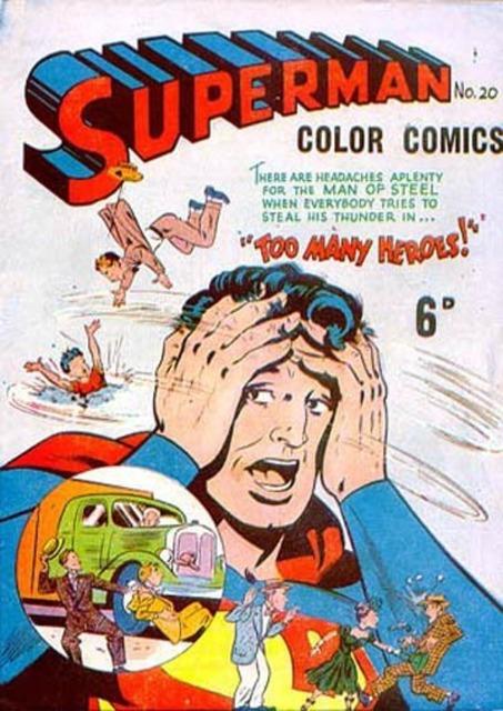 Superman Color Comics