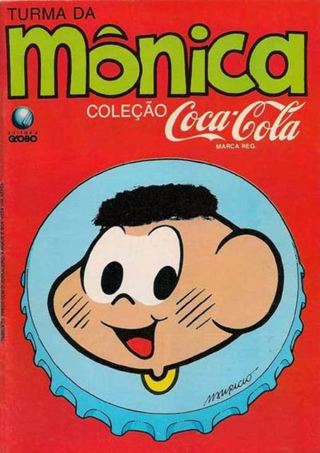 Turma da Mônica Coleção Coca-Cola
