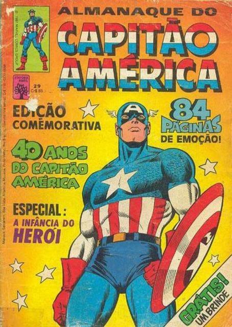 Almanaque do Capitão América