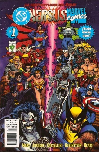 DC Versus Marvel/Marvel Versus DC