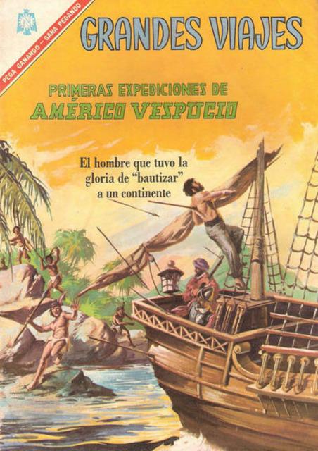 Primeras Expediciones de Americo Vespucio
