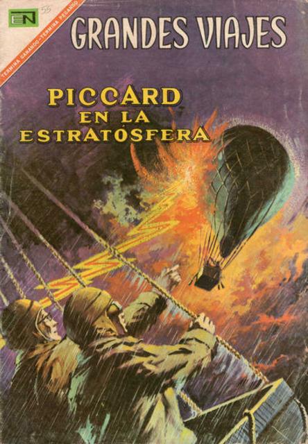 Piccard en la Estratosfera