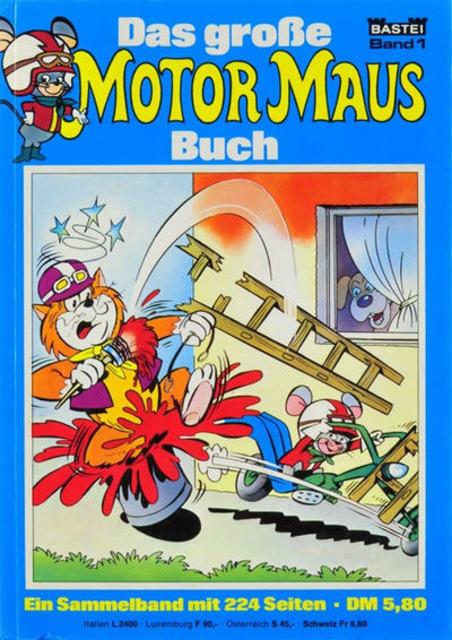Das große Motor Maus Buch