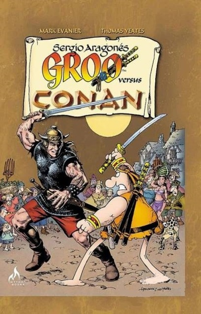 Groo Versus Conan