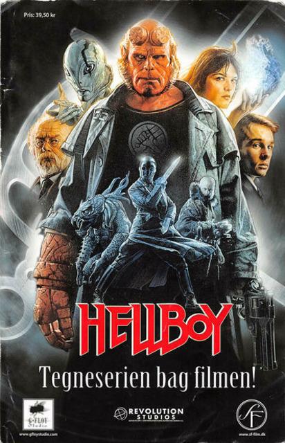 Hellboy: Ondskabens frø - Tegneserien bag filmen!
