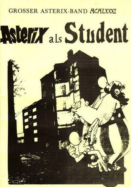 Asterix als Student