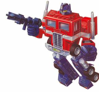 The first incarnation of Optimus Prime.