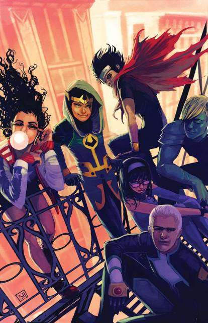 Wiccan and the new Young Avengers