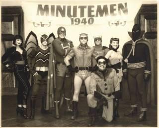 Minutemen in the movie