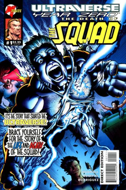 Ultraverse Year Zero: The Death Of The Squad