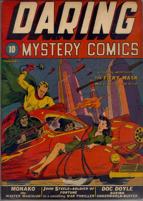 Daring Mystery Comics