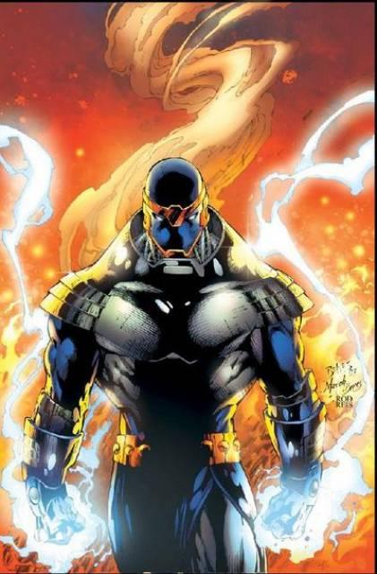 Captain Atom as The Monarch