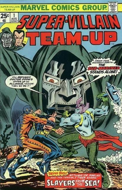 Super-Villain Team-Up