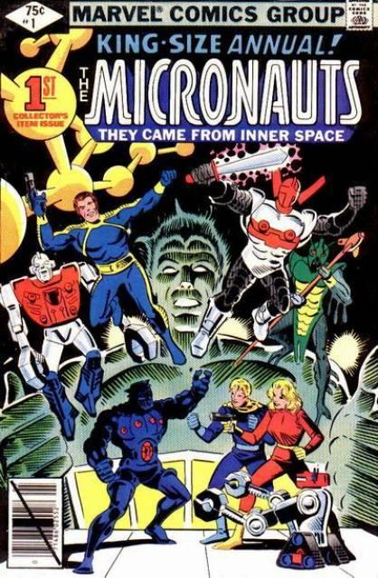 Micronauts Annual