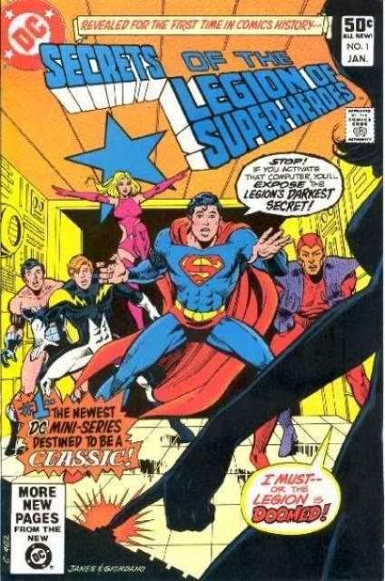 Secrets of the Legion of Super-Heroes