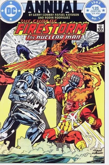 Fury of Firestorm Annual