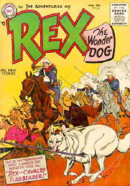 Rex--Cavalry Flagbearer