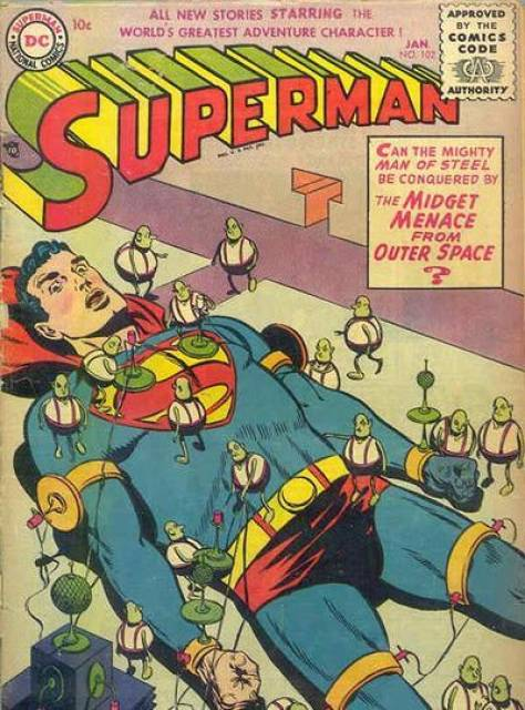 Superman for Sale / Midget Menace From Outer Space / The Million Dollar Mistake