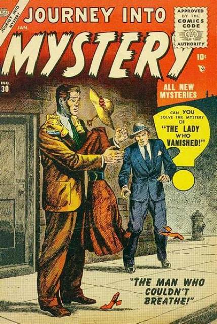 The Lady Who Vanished!