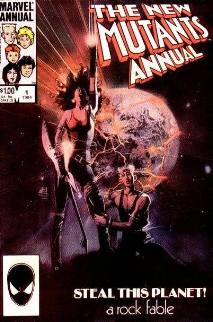 The New Mutants Annual