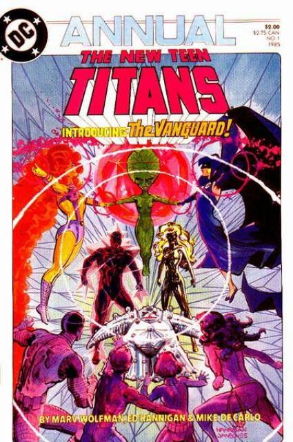 The New Teen Titans Annual