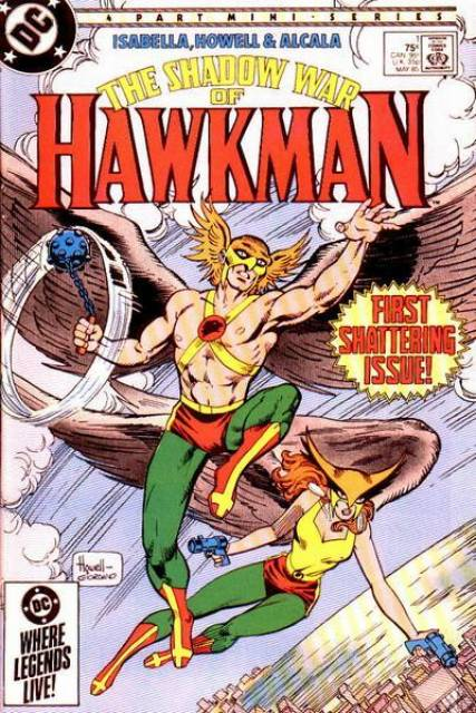 The Shadow War of Hawkman