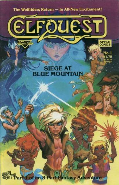 ElfQuest: Siege At Blue Mountain