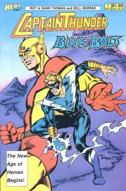 Captain Thunder and Blue Bolt