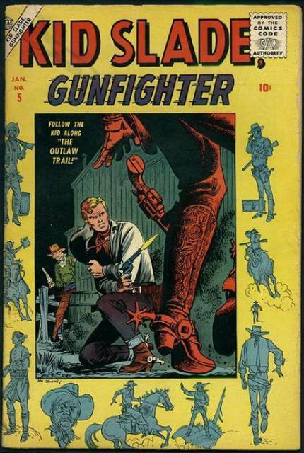 Kid Slade, Gunfighter