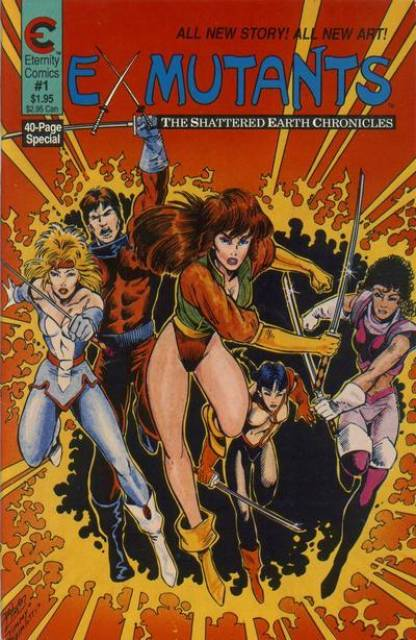 Ex-Mutants: The Shattered Earth Chronicles